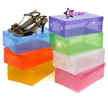 10 box Kotak Sepatu Transparant Shoe Box