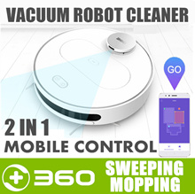 360 S6 Robot Vacuum Cleaner Mop Roborock Robotic Vacuum Cleaner Washable Filter One Year Warranty