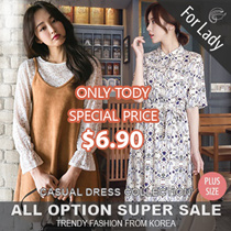 19th Oct Update new Arrivals ♥Korean Style♥ Linen / Casual / LOOSE Fit  / Basic Dress / Plus size