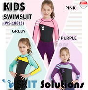 c90493dfbb170 Quick View Window OpenWish. rate 4. KIDS Thick Swimsuit☆WS-18818 Long Sleeve  ...