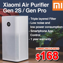 SG SELLER[only $168 ] Xiaomi Air purifier 2S/ 2S PRO OLED Display/ App Control Smart Home