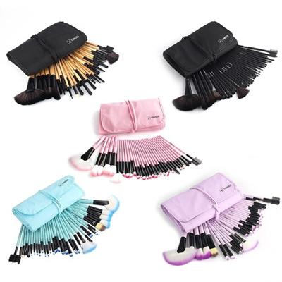 [US$24.48](▼48%)VANDER Makeup Brushes Set 32 PCS  Pink/Black/Blue/Purple/Brown Maquillage Beauty Gift Kabuki Pinceaux