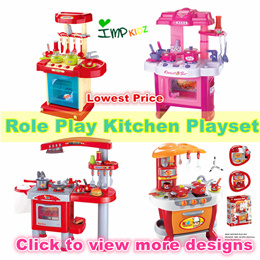❤IMP❤[Kids Toy]Pretend Play Toys/Role Playing Toys/Children Kitchen Playset with sounds and