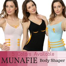 Original Japan Premium Munafie Slimming Hot Shaper Vest /MUNAFIE Tops/5colors Comfy Slim Body Shaper /Munafie Tops/High elastic/