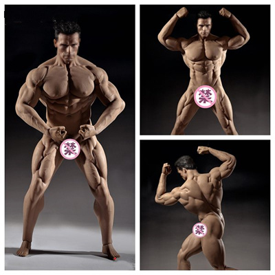 1//6 Flexible Male Seamless Muscle Body Action Figure TBLeague PHICEN PL2018-M35