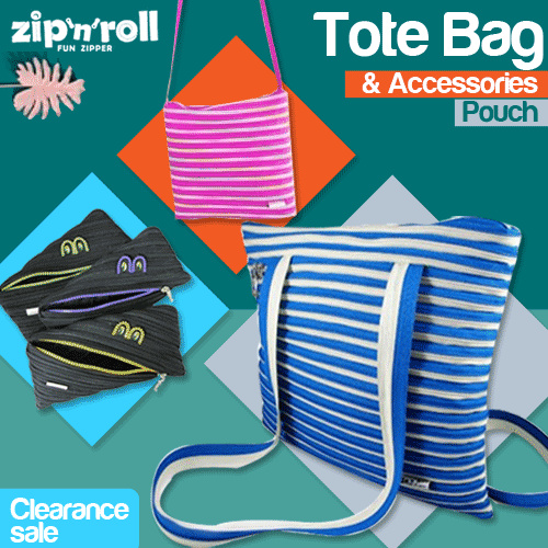 Clearence Sale 50% off Zip N Roll All Product Many Color option Deals for only Rp15.000 instead of Rp15.000