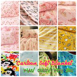 ❤ Hello Kitty Melody Twin Star Tsum Purin Princess Gudetama Kids Baby Adults Blanket ❤ Baby Blanket