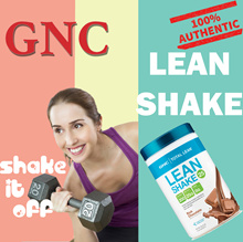 [FreeGifts][GNC Meal Replacement]Total Lean Lean Shake 25 Rich Choco/Bana/Berry...All Flavors Exp21