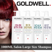 [SALON EXCLUSIVE SHAMPOO 1000ML] Goldwell Dualsenses In Large Size /Conditioner /Treatment /Masque