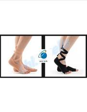 ac3c4f14c2 New design Silicone Anti-Skid yoga socks lady Belly dancing Five fingers  Ballet Socks toe