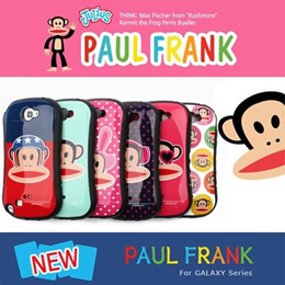 Paul Frank Case/galaxy Note 2 Note 3 case/S3 S4/phone casings/PaulFrank/pouch