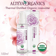 Alteya Organics Thermal Distilled Rosewater 100ml. Hydrate/Tone/Relieve Acne/Reduce Scar