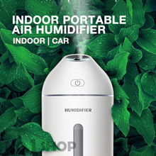►2018 NEW!◄Ultrasonic Aroma Indoor Humidifier | Facial Spa | USB Portable With Sleek Design!
