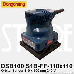 Dongcheng DSB100 S1B-FF-110x100 Orbital Sander 110x100 mm 240V