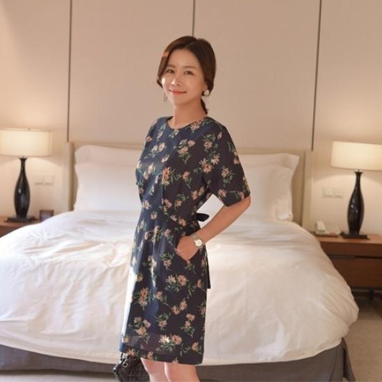 悪女日記】ベンジャミン・ナヨムワンピース プリントのワンピース/ 韓国ファッション