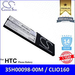 Original CS Mobile Phone Battery Model DX9500SL HTC CLIO160 Shift X9500 Battery