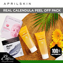 [APRIL SKIN] Real Calendula Peel off Pack / Rose Water Modeling Mask / Mummy Mud Mask
