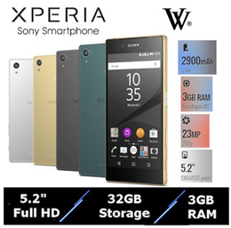 [Refurbished]Sony Xperia Z5/1 Month Shop Warranty/Multiple Colours 9.0 New Condition A+ Grade