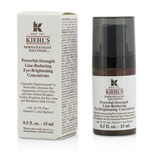 Kiehl s Dermatologist Solutions Powerful-Strength Line-Reducing Eye-Brightening Concentrate 15ml/0.5