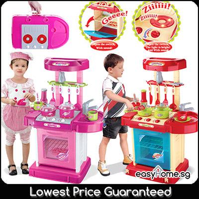 Qoo10 Play Kitchen Set Toys