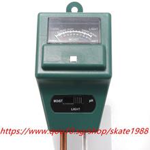3in1 Garden Soil Moisture Tester Light Test PH Meter for Plant Flower Trees