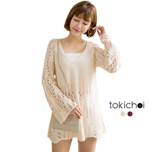 TOKICHOI - Knit Cut-out Sweater-180261