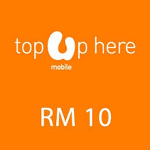 Umobile instant Top UP RM 10