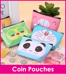 Animal Cute Cartoon Coin Purse/Earphone Holder/Lovely Coin Pouch/Multi Functional Tin Wallet Pouch