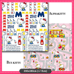 ❤️Hello Kitty Foldable Toddler PlayMat ❤️ Baby Play Mat ❤️ Double Sided❤