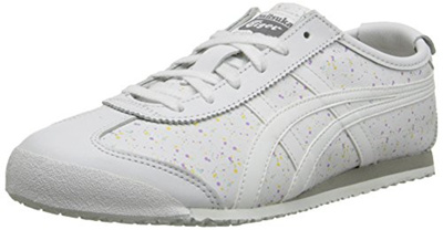super popular 9a5ad 75b89 Onitsuka Tiger Womens Mexico 66 Classic Running Shoe, White/White, 5.5 M US