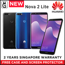 HUAWEI NOVA 2 LITE Smartphone / Local Set with 2 Years Warranty / 3GB RAM / 32 GB ROM. Case/ S.Pro