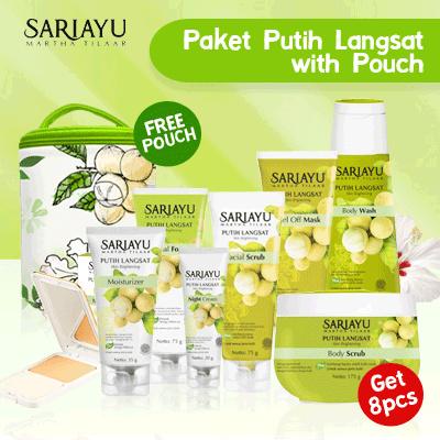 Paket Putih Langsat Deals for only Rp181.280 instead of Rp181.280