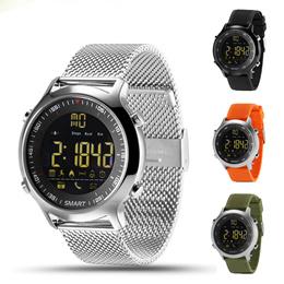 IP67 Waterproof EX18 Smart Watch Support Call and SMS alert Pedometer Sports Activities Tracker Wris
