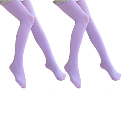 57bec63cb52cc Ehdching 2 Pack Pink Kids Girls Baby Soft Footed MicrofiberBallet Dance  Tights Velvet Stockings Pant