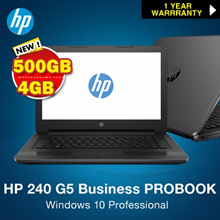 HP 240 G5 Business PROBOOK| 4GB RAM 500GB HDD | Windows 10 Professional /1 YEAR Warranty|While Stock Last!!!
