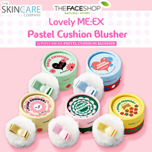 (1+1) [TheFaceShop] Authorised Reseller ★ LOVELY MEEX ★ PASTEL CUSHION BLUSHER 5g (5 colors)