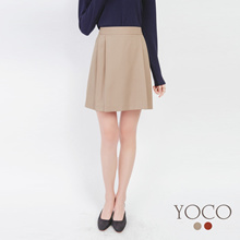 YOCO - Pleated Chiffon Skirt-172129-Winter