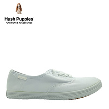 Hush Puppies SG Limited Edition Charley Canvas Sneakers (Mens-White)