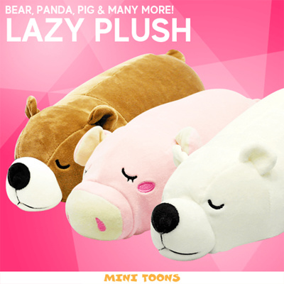 Qoo10 - Plush ★ Soft Toy ★ From $10 ★ Lazy Plush ★ Bear ...