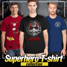Fantasia T-Shirt Pria My Heroes - 2018 Collections Update