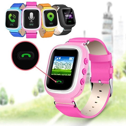 Q60 Smart Watches Smartband Tracker SOS Call Anti-lost Child for Android iOS