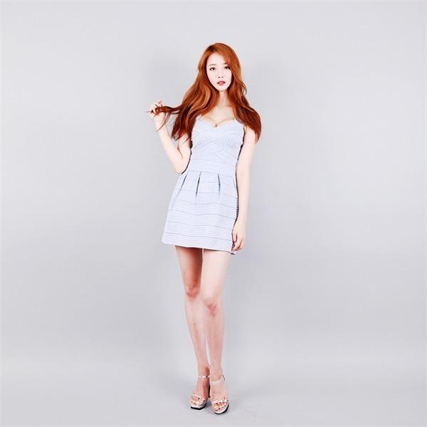 [送料無料]ポルリパンチスルーbl ミニワンピース/ワンピース/韓国ファッション