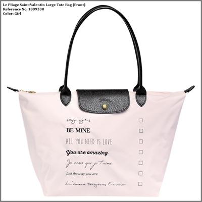 de81ae67db0  Longchamp  100% Authentic  LE PLIAGE SAINT-VALENTIN LARGE TOTE BAG (Ready  Stock)  Rating  0  Free  S 235.00