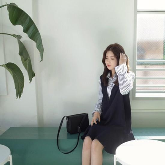 ミミ・アンド・ディディbriar ops5212 綿ワンピース/ 韓国ファッション