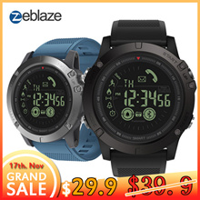 Zeblaze VIBE 3 Flagship Rugged Smartwatch 33-month Standby Time 24h All-Weather Monitoring Smart Wat
