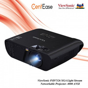 ViewSonic PJD7326 XGA Light Stream Networkable Projector- 4000 ANSI