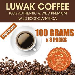 KOPI LUWAK GLOBAL ARABICA ROASTED BEANS BLACK GIFT BOX. Source · [Luwak Coffee] 100% Authentic Wild Premium Arabica Luwak Coffee Roasted Bean - 100