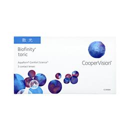 CooperVision Biofinity Toric (3pcs/box) PWR 0.00 ~ -8.00
