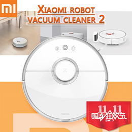 [Nett. $540]Xiaomi Mi Robot Vacuum Cleaner 2 Wet Drag Mop Smart Planned with Water Tank Automatic Sweeping Dust ❤ Sensor Upgraded!!!