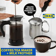 GRATIS PRODUKT Pengocok Susu utk Pembelian UPPHETTA Pembuat kopi / teh